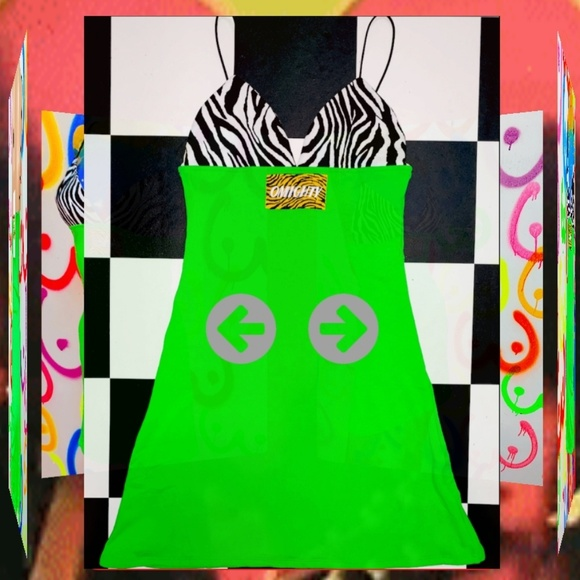 omighty Dresses & Skirts - Omighty  SLIMEY MINI DRESS
